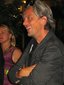 Mikael Colville-Andersen, a Danish-Canadian filmmaker, photographer and urban mobility expert with Copenhagenize Consulting. http://en.wikipedia.org/wiki/Mikael_Colville-Andersen  http://copenhagenize.eu/profile.html