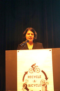 Recycle-a-Bicycle's Executive Director Pasqualina Azzarello
