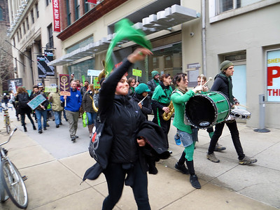 Youth Bike Summit Procession with Rude Mechanical Orchestra http://rudemechanicalorchestra.org/