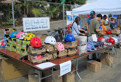 Helmet distribution