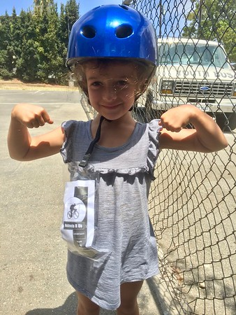 Helmet fitting for Girls Inc (July 2017)
