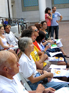 Group from Santa Barbara at City Hall