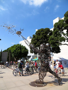 The CicLAvia hub @ Expo Park was added for the fifth event. It was great! http://en.wikipedia.org/wiki/Exposition_Park_(Los_Angeles)