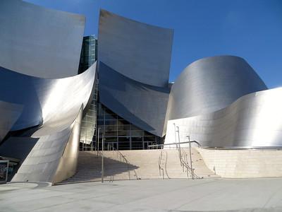 Disney Concert Hall http://en.wikipedia.org/wiki/Walt_Disney_Concert_Hall