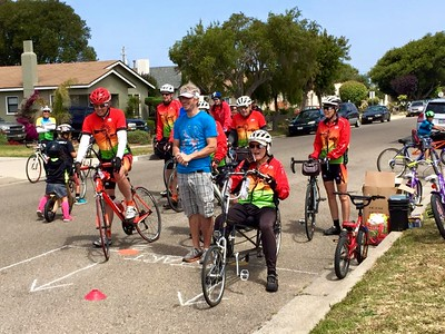 Tailwinds Bicycle Club in Guadalupe