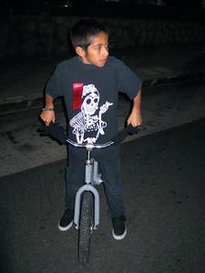 Fearless BMX rider