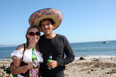 Carlos & his girlfriend