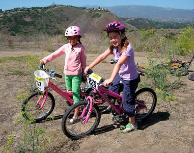2 young riders (Ella & Jane)