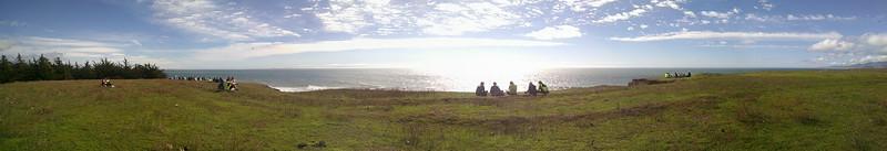 Panoramic photo taken by Eve Sanford