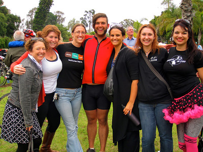 AIDS ride in SB (2011)