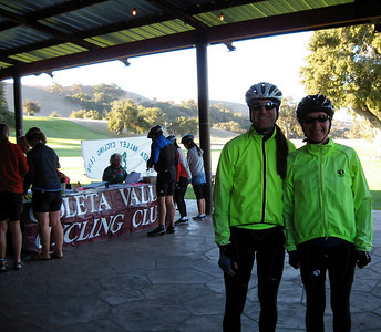 Ready to ride 70 miles (photo taken by Don Lubach)  Goleta Valley Cycling Club: http://www.goletabike.org/index.html