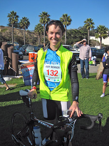 Congrats to Amy who rode the SB Century