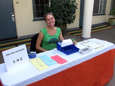 Erika, a volunteer at Hotel Oceana