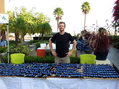 John, a volunteer at Hotel Oceana