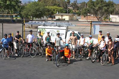 Group photo at the FoodBank