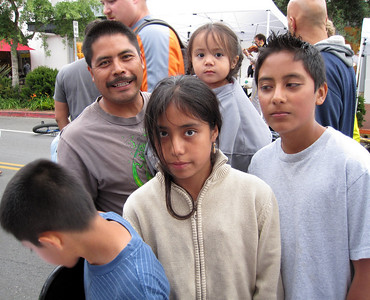 A family enquiring about our Youth programs