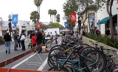 Bike Valet Parking on State St