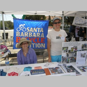 Marcia Engelmann & Christine Bourgeois at the booth (photo taken by Robert Bernstein)