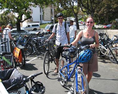 Bike Valet Parking at the Mesa Spring Festival