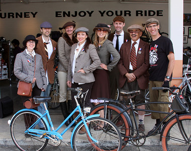 Santa Barbara Tweed Ride (May 2010)