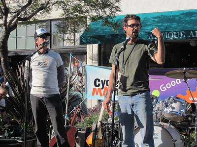 Kent Epperson, Traffic Solutions & Ed France, Santa Barbara Bicycle Coalition