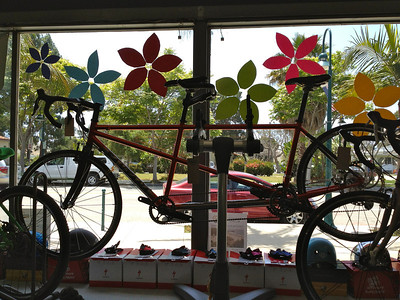 Tandem in Rincon Cycles