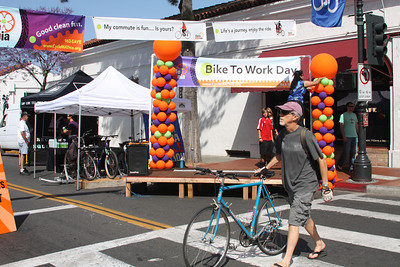 Pedal power stage is ready