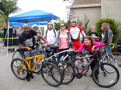 Participants from the Mesa Spring Fest Ride