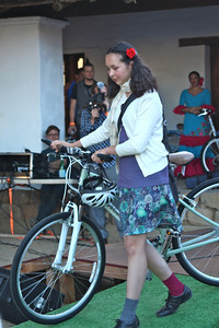 Christina Anderson attended a Pedal Power program at Santa Barbara Charter School