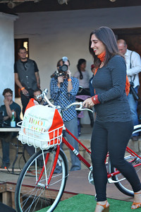 Catherine Brozowski (expectant mothers are happy cyclists too)