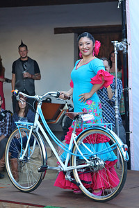 Sabrina Ibarra, the 2012 Spirit of Fiesta Winner