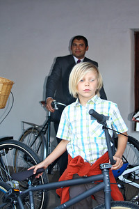 Oliver McLaughlin, Pedal Power participant at Santa Barbara Charter School