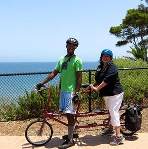 Omari & Santa Barbara Councilmember Cathy Murillo