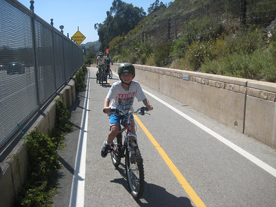 On the Ortega Hill bike path