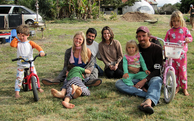 Our hosts at Orella Ranch: Guner, his wife Heidi & 2 boys, David Fortson, his wife Terra Basche & 2 daughters. http://www.orellastewardship.org/about.htm#thepeople
