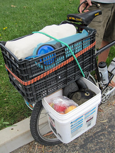 Home-made panniers