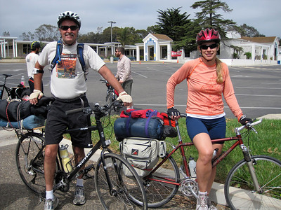 New bike touring participants