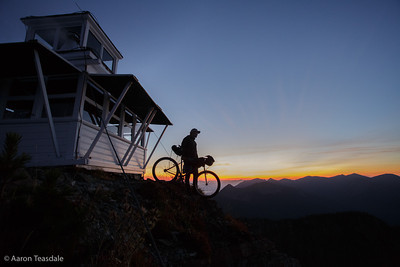 Bikepacking Montana's Fire Lookouts
