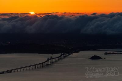 Dawn Breaking over Point Richmond