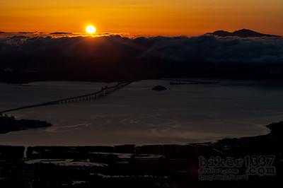 Sunrise over Richmond