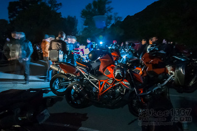 Apparitions and Bikes