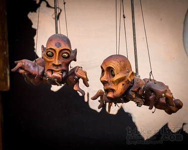 Flying Puppets