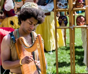 Harp and Masks