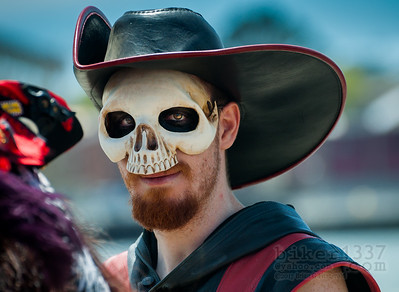 Skull Faced Pirate