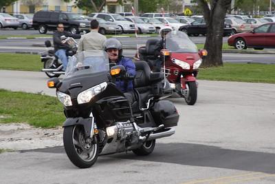 Bikers Visit The Admirals Marine Academy 016