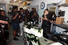 Boys and Girls Clubs of Broward County visit Custom Coating's Motorcycle