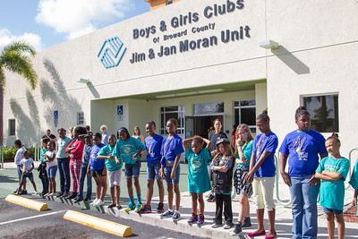 Bikers Bash Bikers at the Jim & Jan Moran Boys and Girls Club