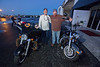 Bikers Bash Bikers at the Aero Toy Store