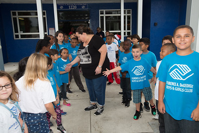 Bikers Bash Bikers at the Florence DeGeorge Boys and Girls Club