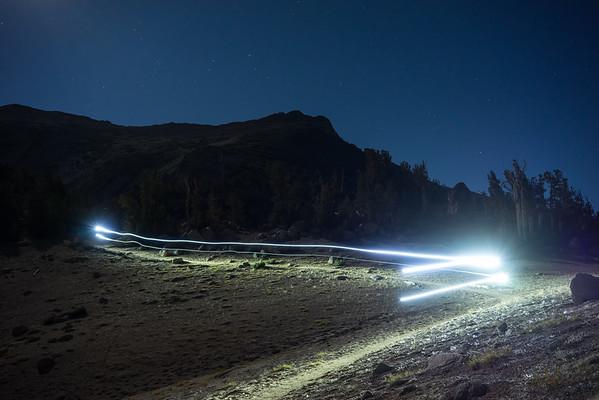 Night Riding Under a Full Moon